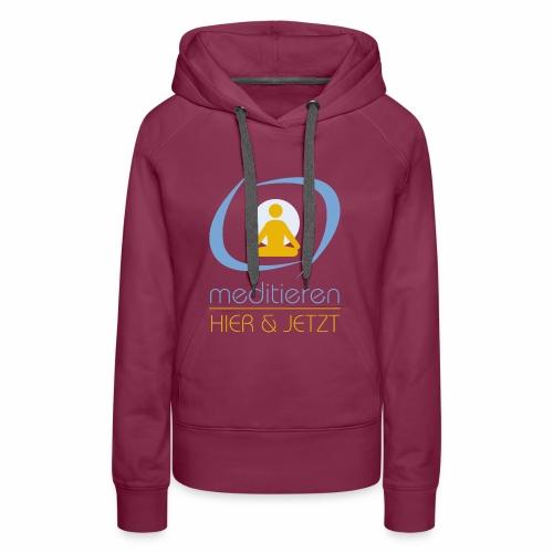 MeditierenHierJetzt.ch - Frauen Premium Hoodie