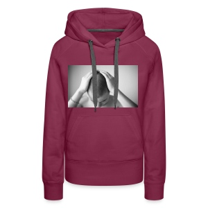 Because I am different - Sudadera con capucha premium para mujer