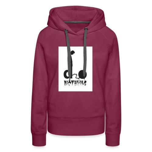 Elro - Do Nothing merchandise. - Women's Premium Hoodie