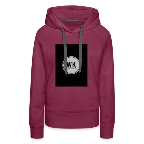 WienerKickerZ Logo - Frauen Premium Hoodie