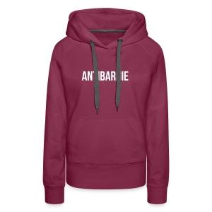 Antibarbie - Frauen Premium Hoodie