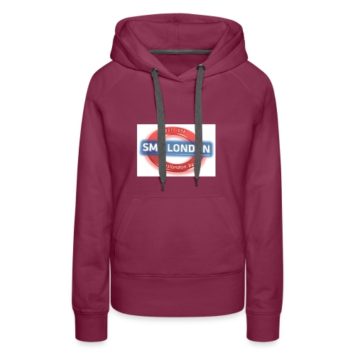 SMS London logo - Vrouwen Premium hoodie