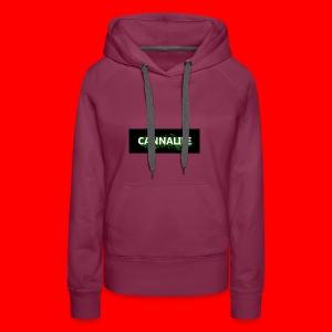 Cannalife - Dame Premium hættetrøje