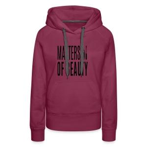 beauty obi sweater - Vrouwen Premium hoodie