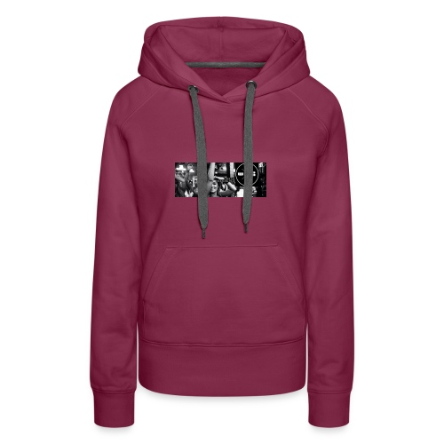 W8BOOKING OFFICIAL FACEBOOKPAGE - Frauen Premium Hoodie