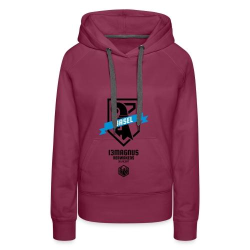 T Shirt Aufdruck Front - Frauen Premium Hoodie