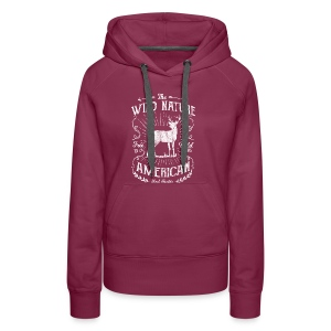 ANTLER HUNTER - Jäger Hunter Hunting Wildnis Shirt - Frauen Premium Hoodie