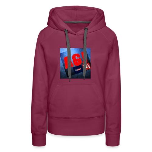 AGJ Nieuw logo design - Vrouwen Premium hoodie