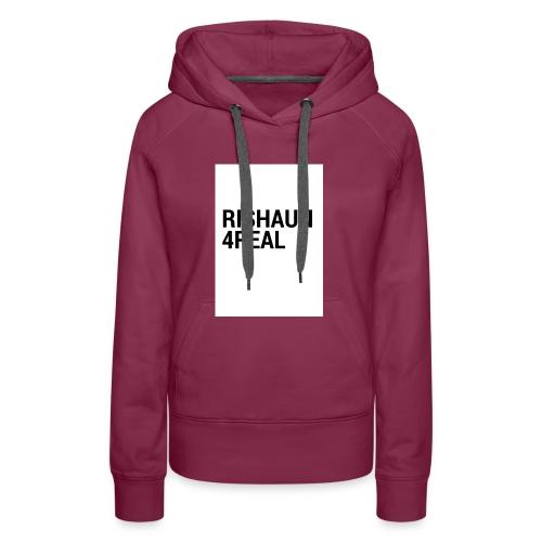 rishaun 4real original - Women's Premium Hoodie