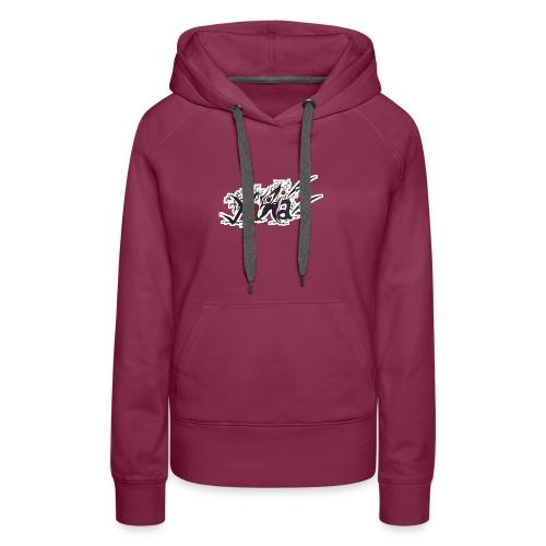 prénom marocaine - Sweat-shirt à capuche Premium pour femmes