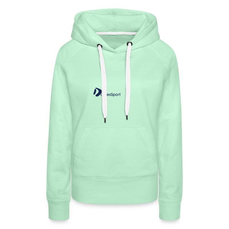 Logo DomesSport Blue noBg - Frauen Premium Hoodie