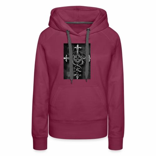 Gothic Kreuz - Frauen Premium Hoodie