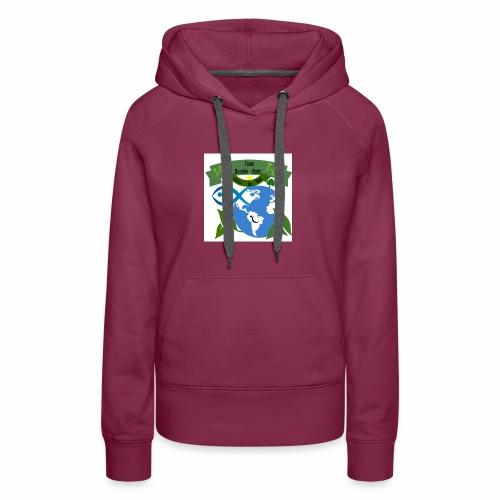 logo dumble baits - Sweat-shirt à capuche Premium pour femmes