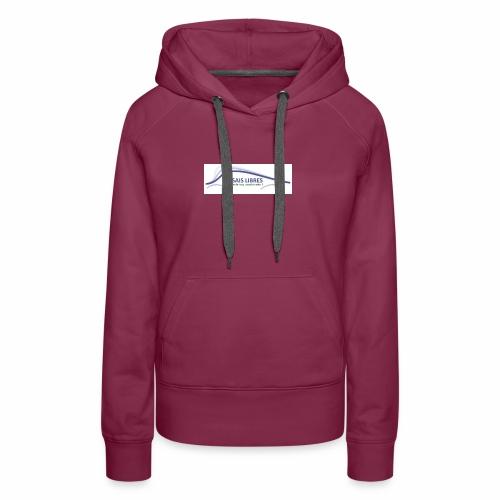 ESSAIS LIBRES - Sweat-shirt à capuche Premium pour femmes