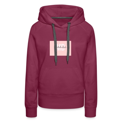 IMG 0552 - Sweat-shirt à capuche Premium pour femmes