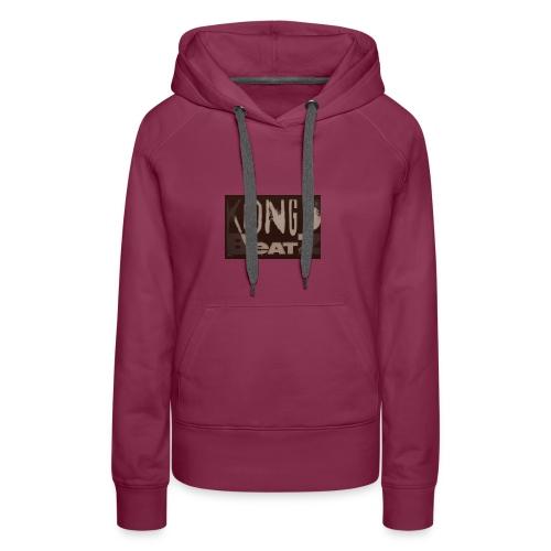 KONGOBEATZ DESIGN - Sweat-shirt à capuche Premium pour femmes