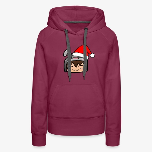 Weihnachtshase - Frauen Premium Hoodie
