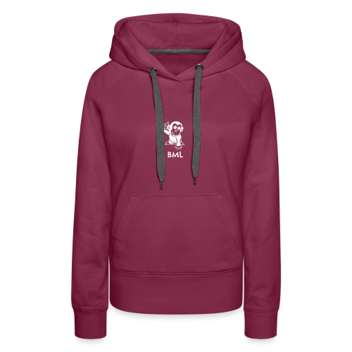 BestMonkeyLearning Logo - Women's Premium Hoodie