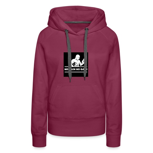 5 - Sudadera con capucha premium para mujer