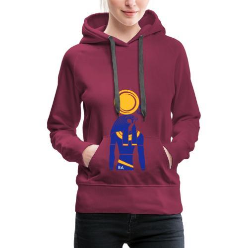 RA – Sonnengott - Frauen Premium Hoodie