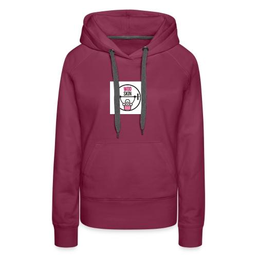 Crossfit Love - Sudadera con capucha premium para mujer