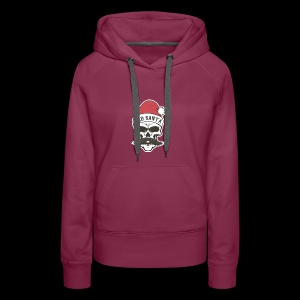 God Save Xmas - Sweat-shirt à capuche Premium pour femmes