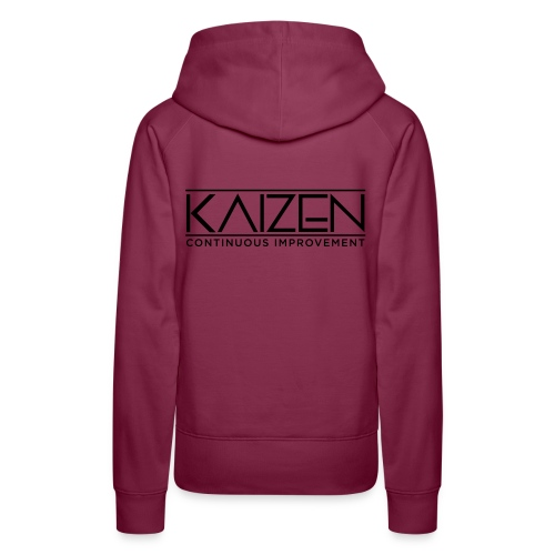 Kaizen Continous Improvement - Women's Premium Hoodie