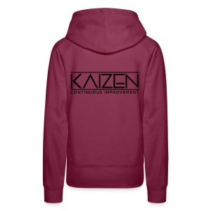 Kaizen Continous Improvement - Women's Premium Hoodie