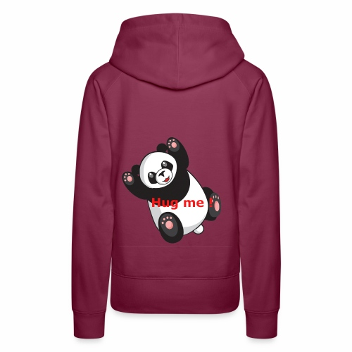 Panda Hug me - Frauen Premium Hoodie