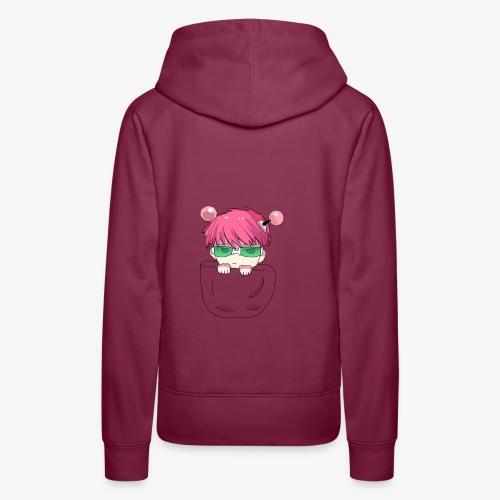 pocket chibi - Sweat-shirt à capuche Premium pour femmes