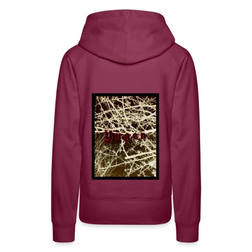 Yugen shirt - Sudadera con capucha premium para mujer