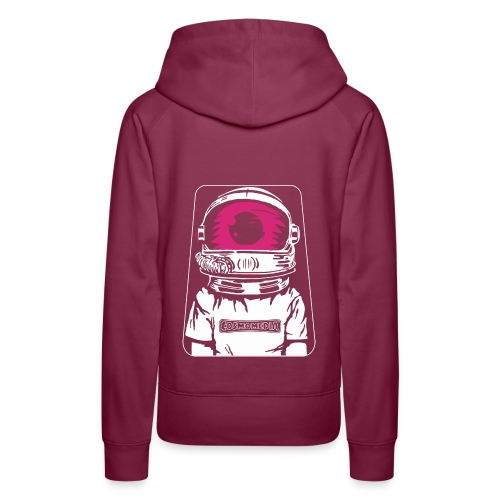 CosmoMedia 2 - Sudadera con capucha premium para mujer