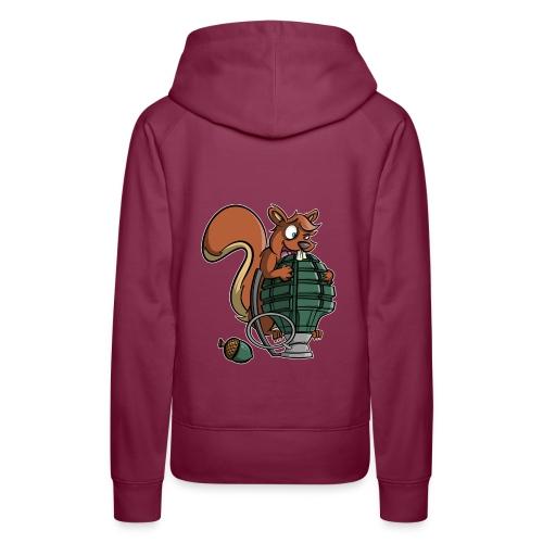 Eichhörnchen Granate - Frauen Premium Hoodie