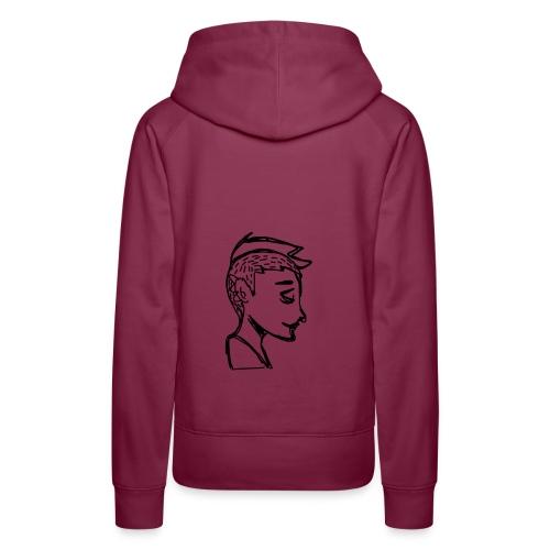 Little boy - Sweat-shirt à capuche Premium pour femmes