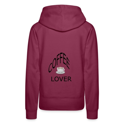 COFFEE lovers - Women's Premium Hoodie
