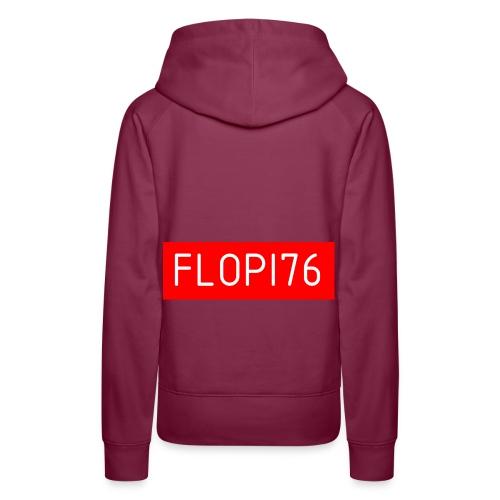 FLOPI76 - Sweat-shirt à capuche Premium pour femmes