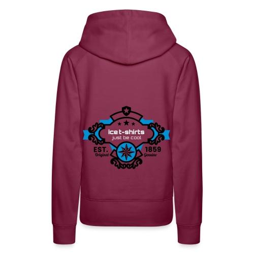 Ice T Shirt just be cool - Frauen Premium Hoodie