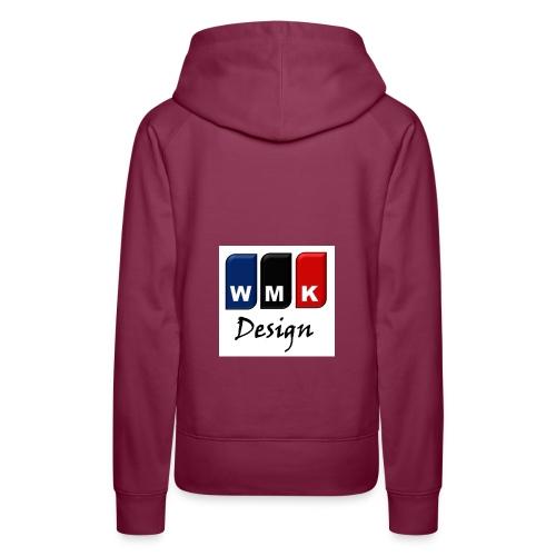 WMKDesign1 - Sudadera con capucha premium para mujer