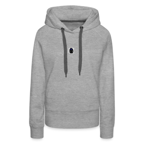 TEAMWARRIORCREW - Sudadera con capucha premium para mujer