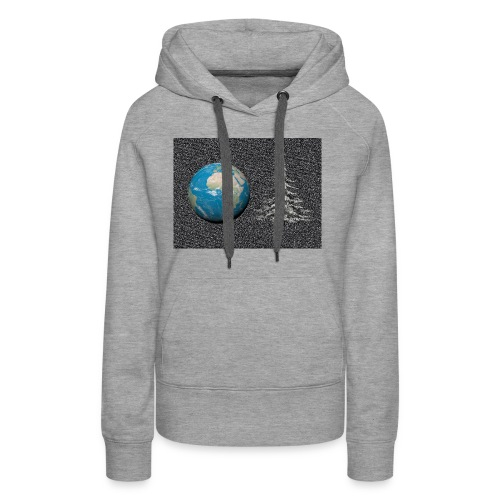 world_christmas3 - Sweat-shirt à capuche Premium pour femmes