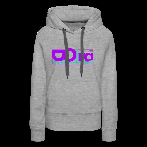DORA Crew Logo Delic II - Felpa con cappuccio premium da donna