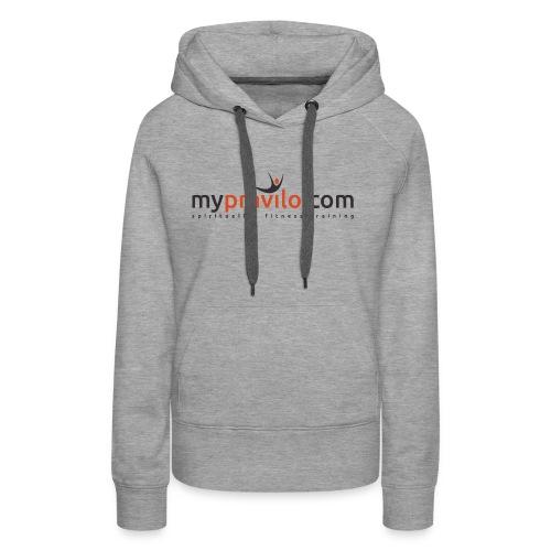 myPRAVILO.com - Frauen Premium Hoodie