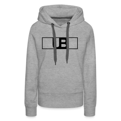 UrbanBrand Logo - Bluza damska Premium z kapturem