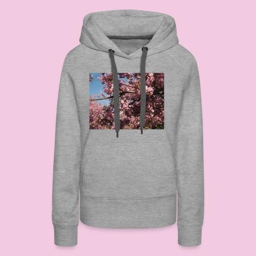 Kirschblüten - Frauen Premium Hoodie