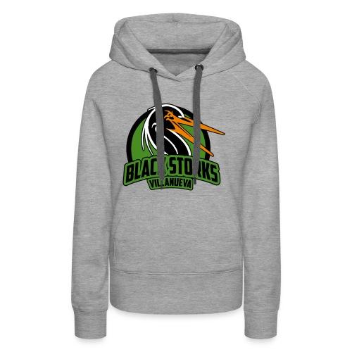 Camiseta Basica BlackStorks - Sudadera con capucha premium para mujer