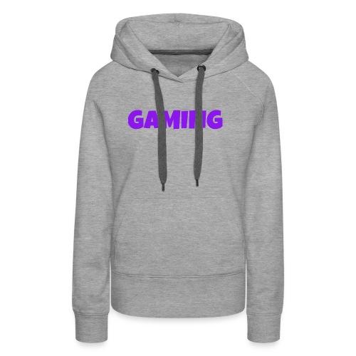 Gaming - Dame Premium hættetrøje