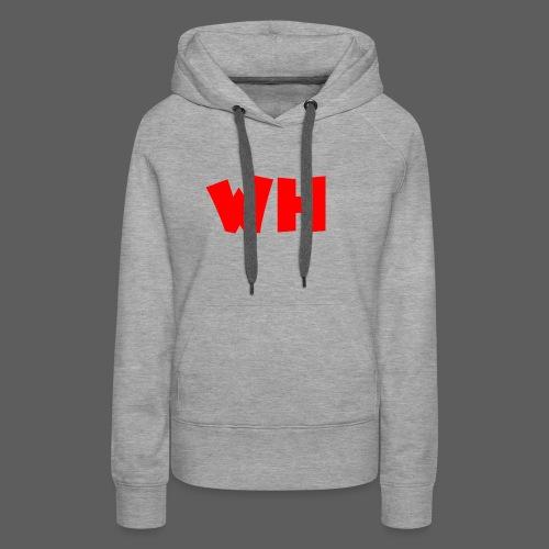 WH - Vrouwen Premium hoodie