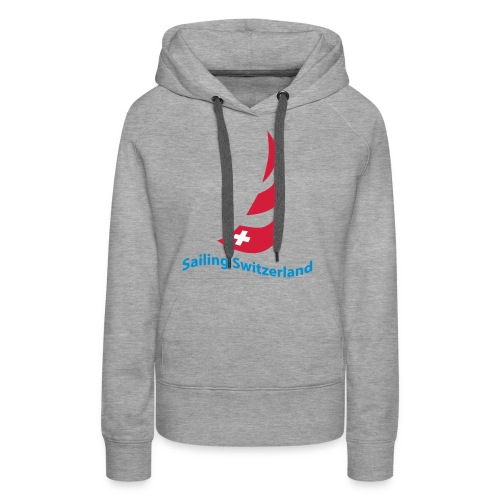 logo sailing switzerland - Frauen Premium Hoodie