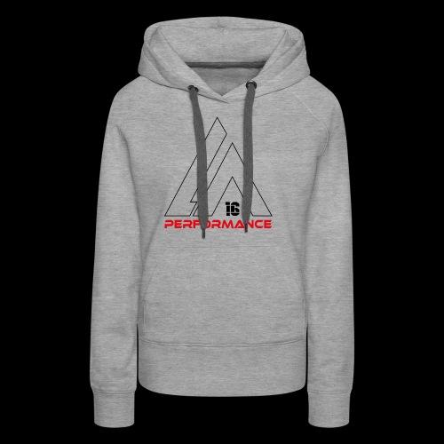 LA Performamce black/red - Frauen Premium Hoodie