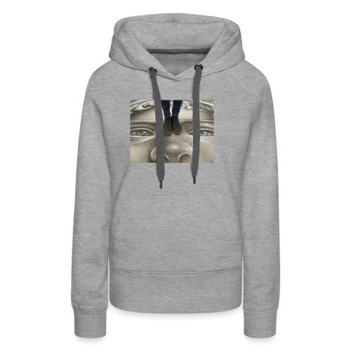 Streetart & Sneaker - Frauen Premium Hoodie